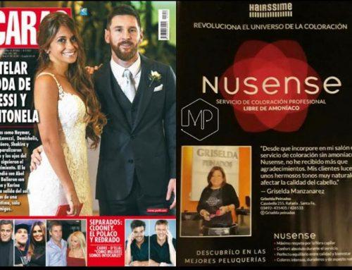 Griselda en Revista Caras